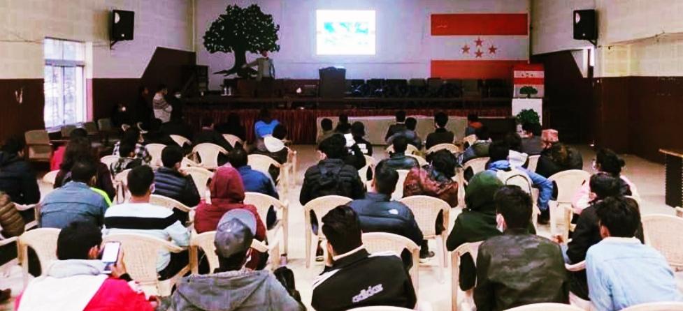 युवालाई साइबर अपराध सम्बन्धी, कांग्रेसको प्रशिक्षण