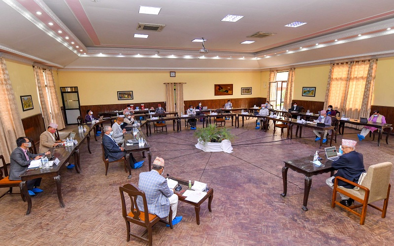 काठमाडौंसहित अति प्रभावित जिल्लामा १५ दिन निषेधाज्ञा गर्ने मन्त्रिपरिषद्को निर्णय